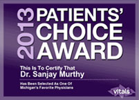 Internal Medicine Doctor in Rochester MI - WellHealth Medical Associates - 2013-patients-choice-award